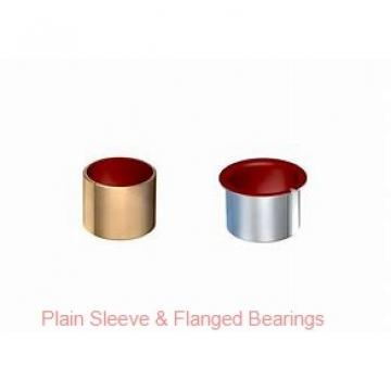 Oilite AAM0812-12 Plain Sleeve & Flanged Bearings
