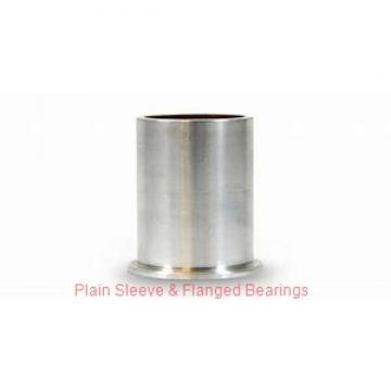 Oilite FFM2026-25 Plain Sleeve & Flanged Bearings